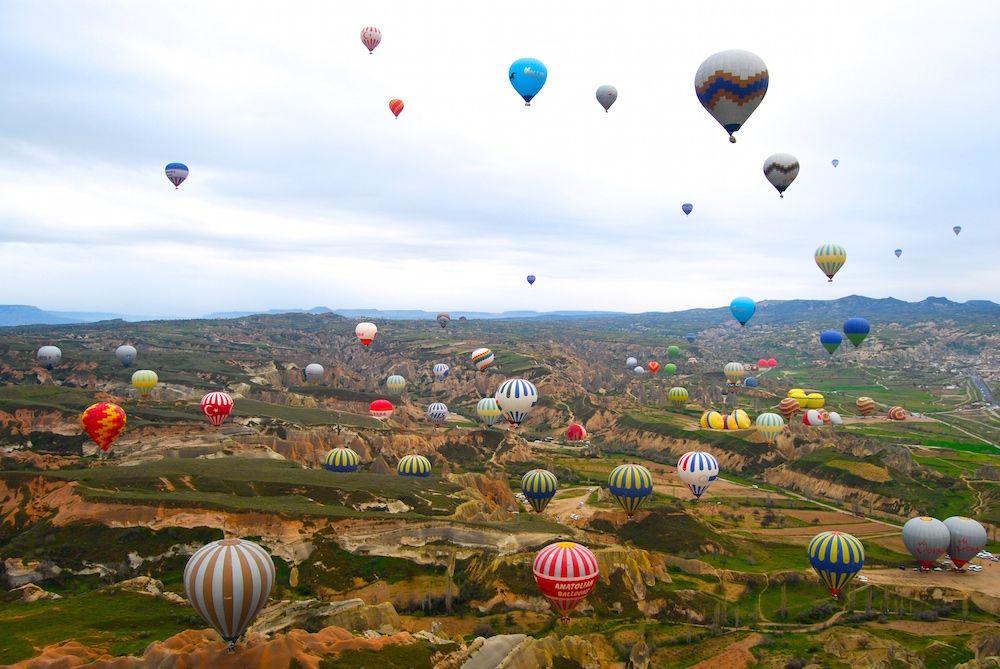 Exploring Cappadocia Turkey tourist, Lifetime trip