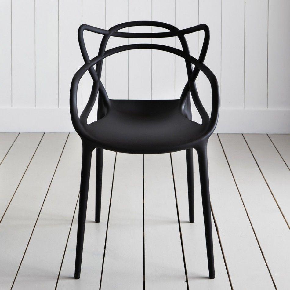 Kartell Masters Chairs Black Silla Masters Sillas Modernas Sillas