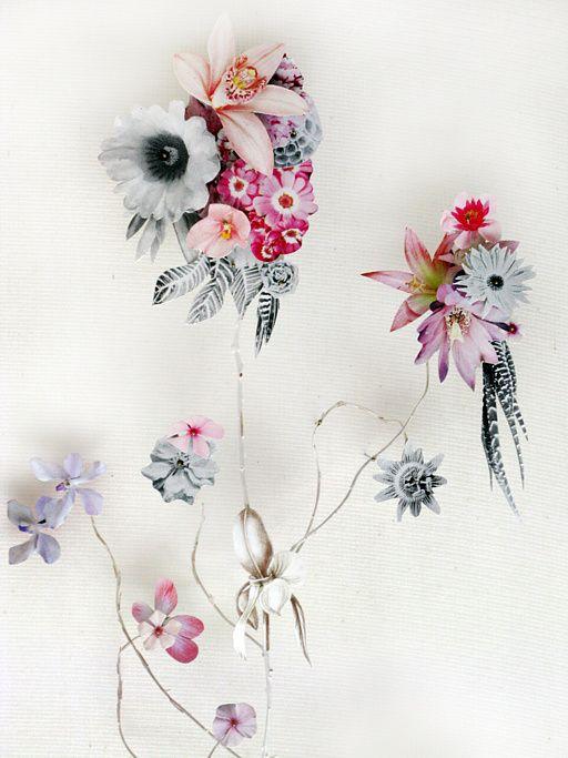 Les Compositions Florales De L Artiste Ann Ten Donkelaar Flower Art Paper Art Flowers