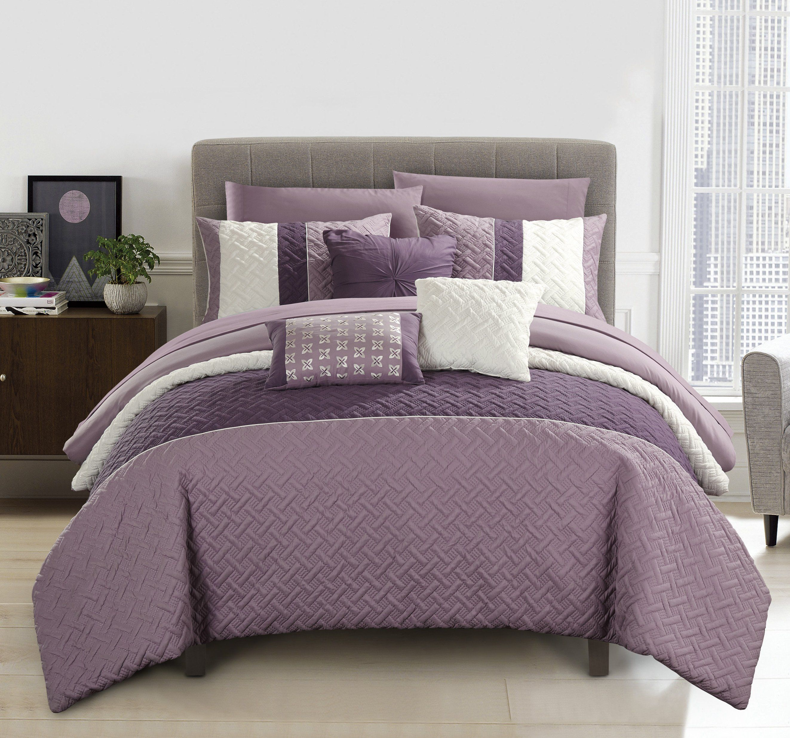 gemstone products flores lilac amethyst lifestyle comforter leah new