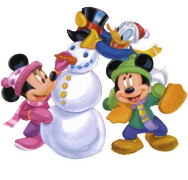 Free Disney Borders Disney christmas clipart pictures 2 Mickey