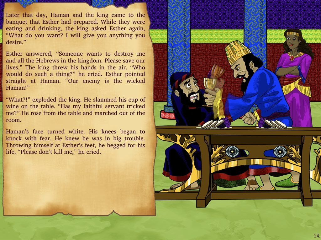 Bible Story For Kids Esther