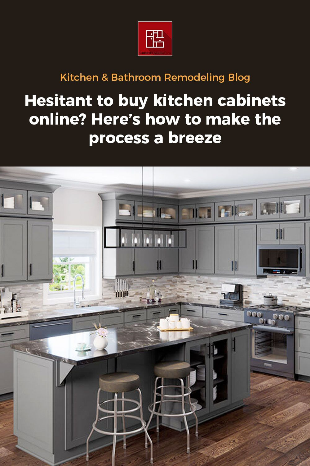 Hesitant To Buy Kitchen Cabinets Online Here S How To Make The Process A Breeze Cabinetselect Com Online Kitchen Cabinets Kitchen Cabinets On A Budget Buy Kitchen Cabinets