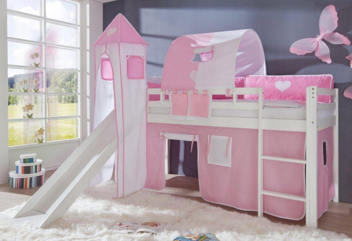 Relita Etagenbett Beni Weiß Lackiert : Hochbett rosa buche weiß lackiert relita fsc® zertifiziert jetzt