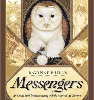 Messenger oracle book (hc) by Ravynne Phelan