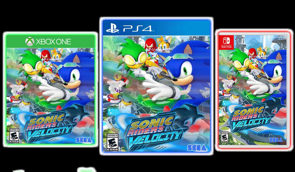 Sonic Free Riders Xbox One