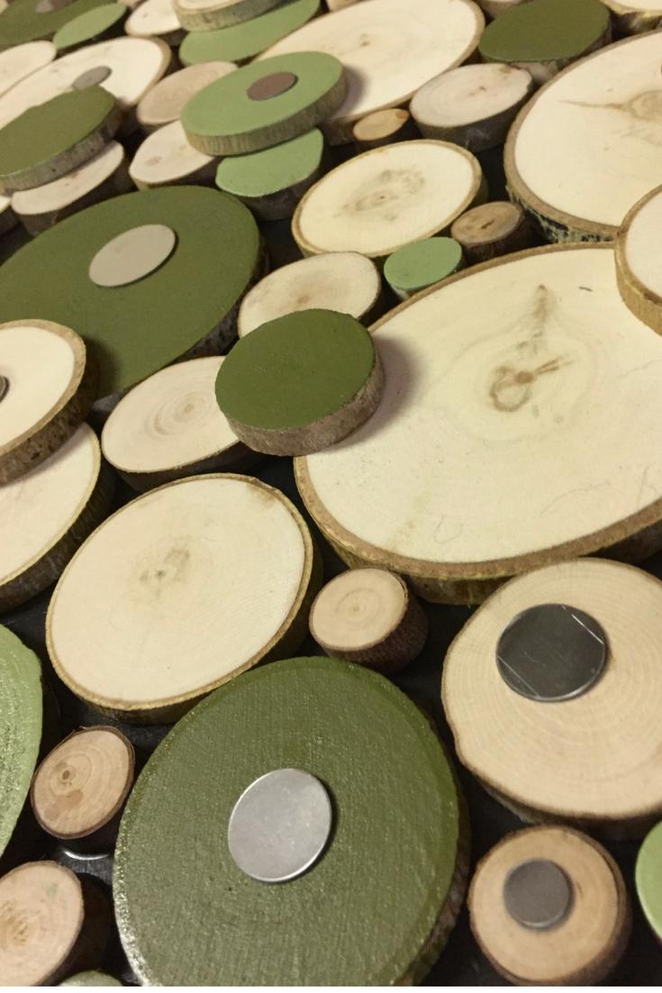 Wood slice art, Tree slice art, Tree slice wall art, Wood slice wall ...