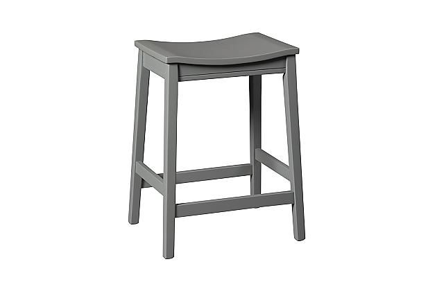 Ashley Furniturre Gray Bantilly Counter Height Barstool