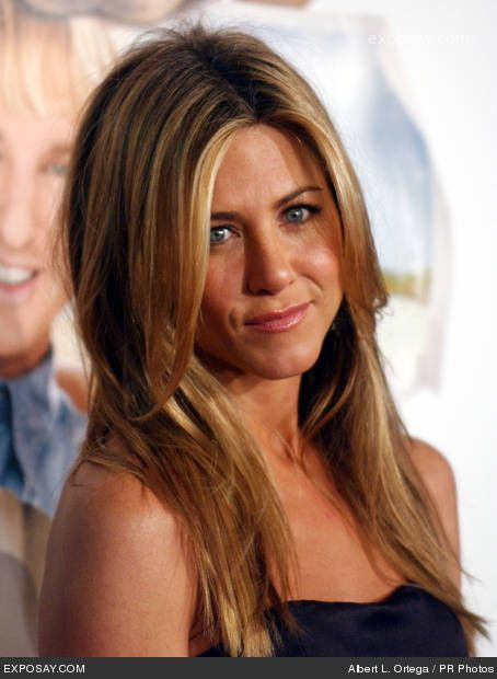 Balayage Highlights Jennifer Aniston