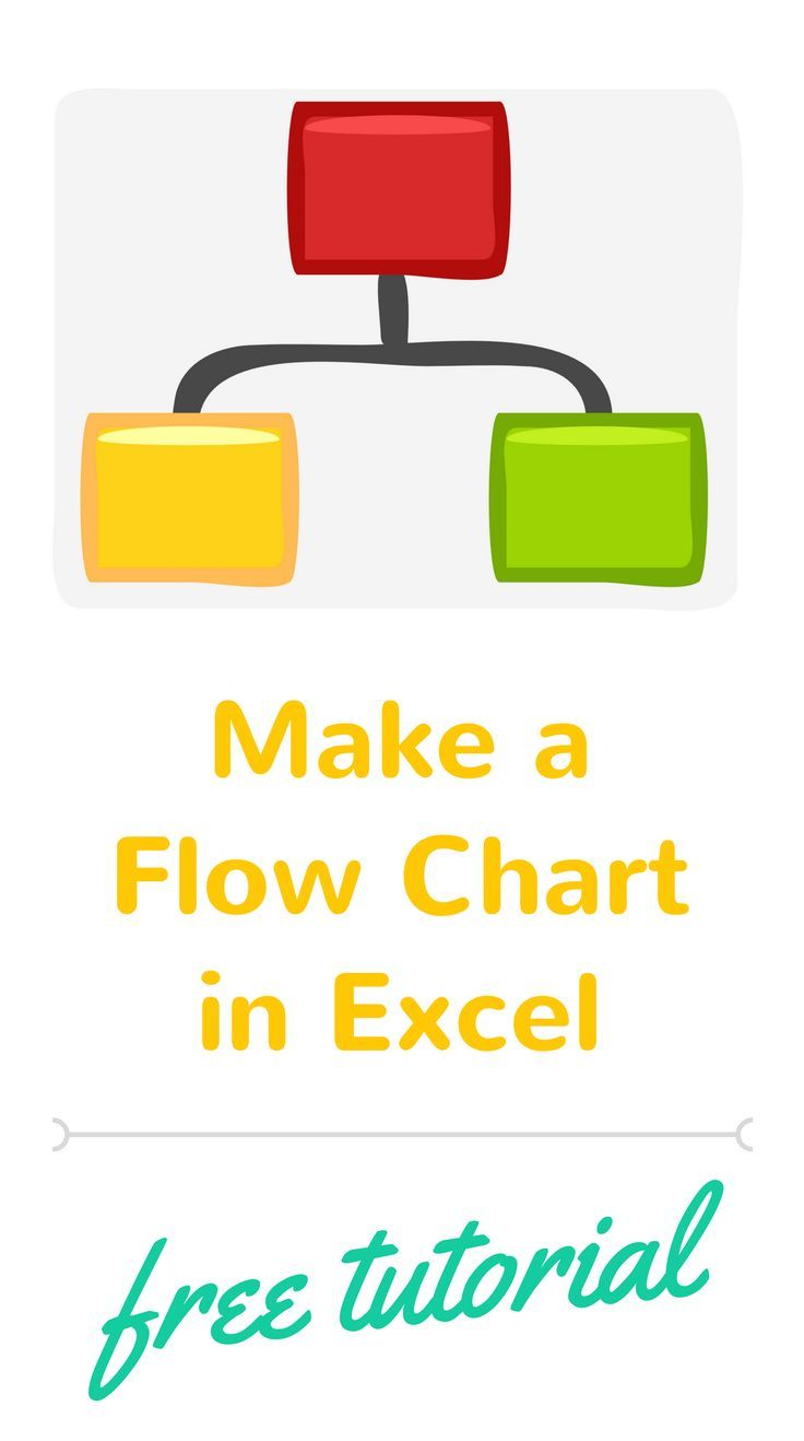 Excel Tutorial On How To Make A Flow Chart In Well Review Process Diagram Create Flowchart Using Shapes Then Add Arrows Connec