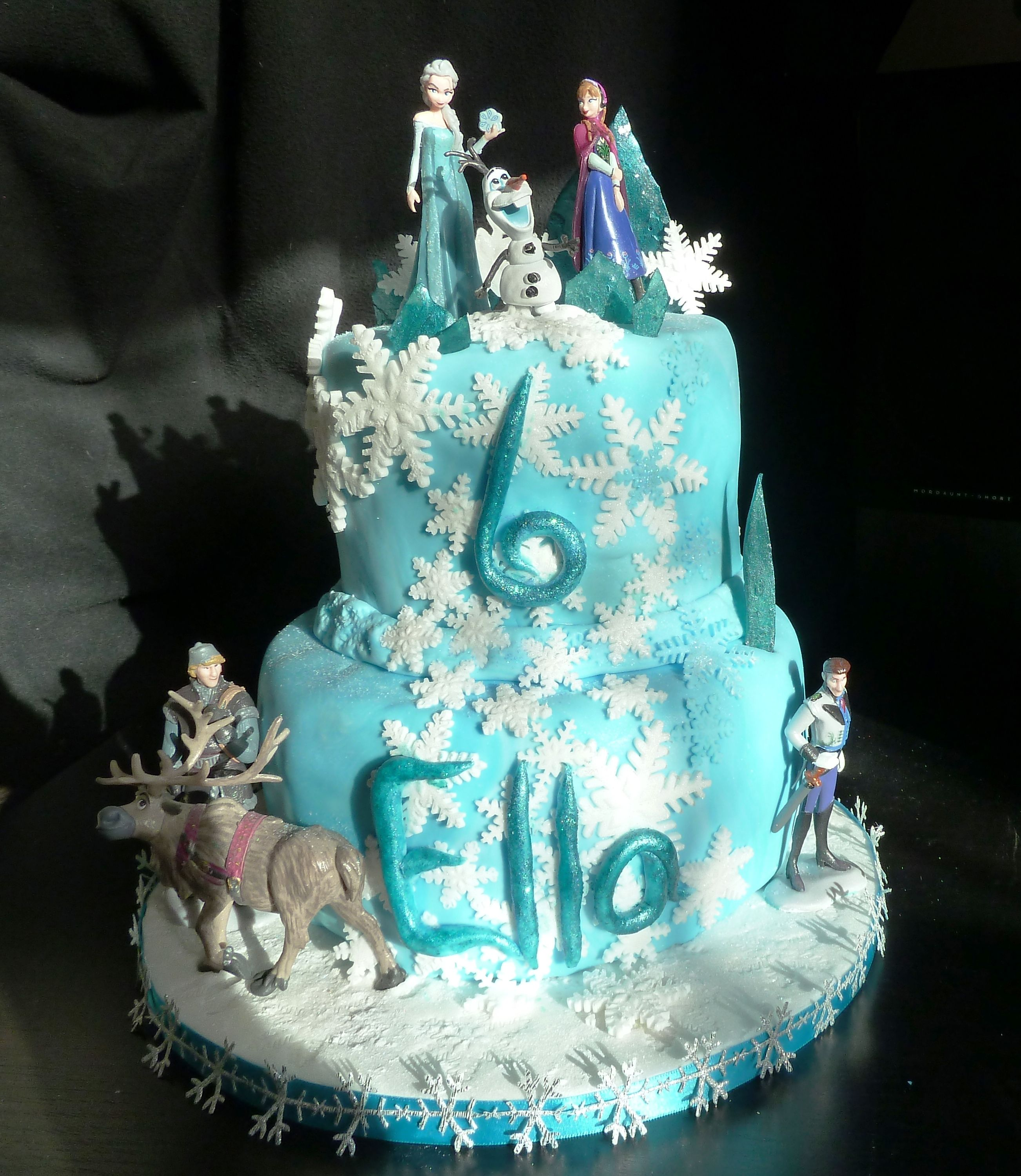 frozen birthday cake 888x1024 Chloe Friendly Foods Pinterest