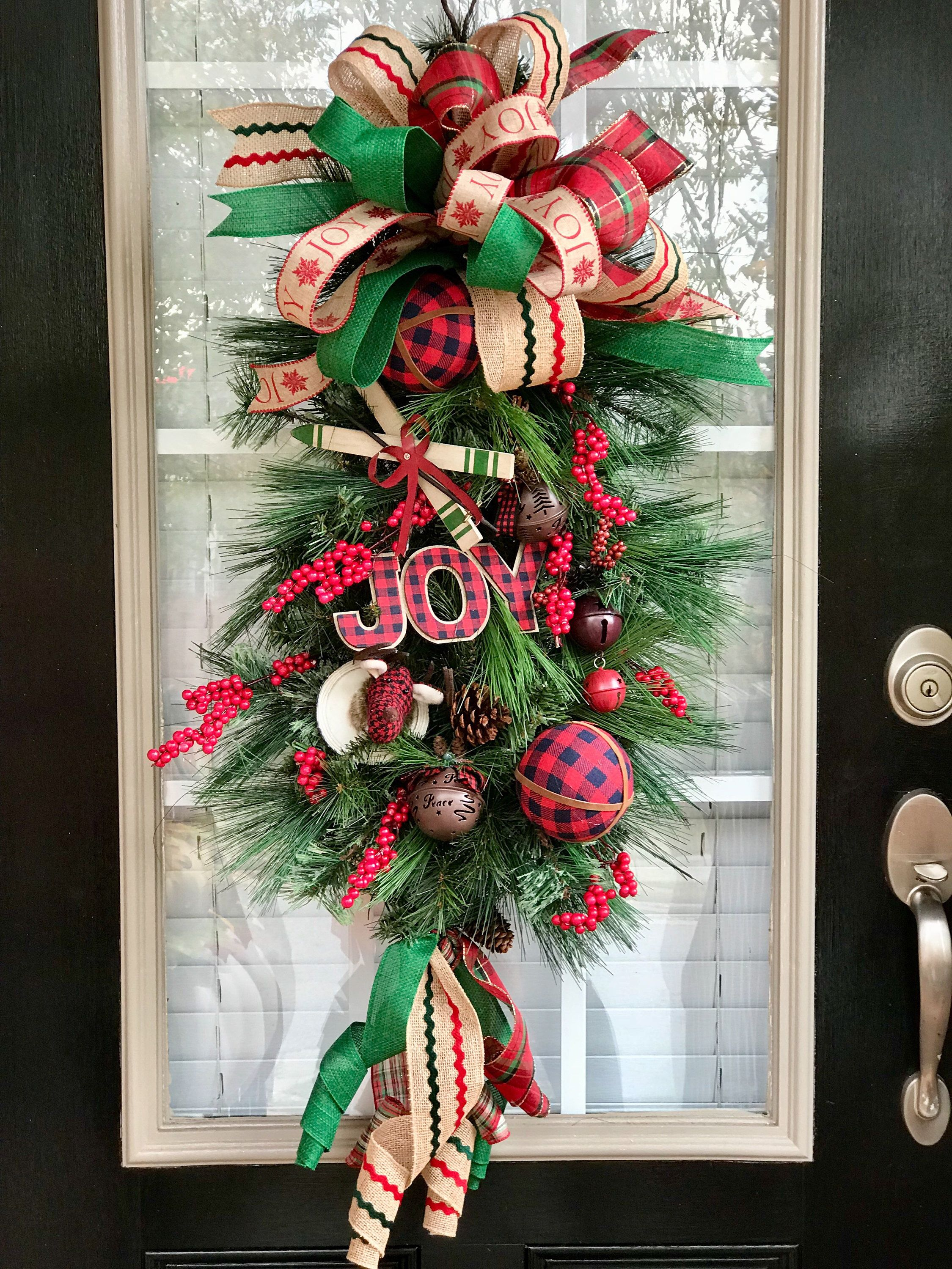 Pin By Kim S Wreath Boutique On Christmas Swags Christmas Swags Christmas Rustic Christmas