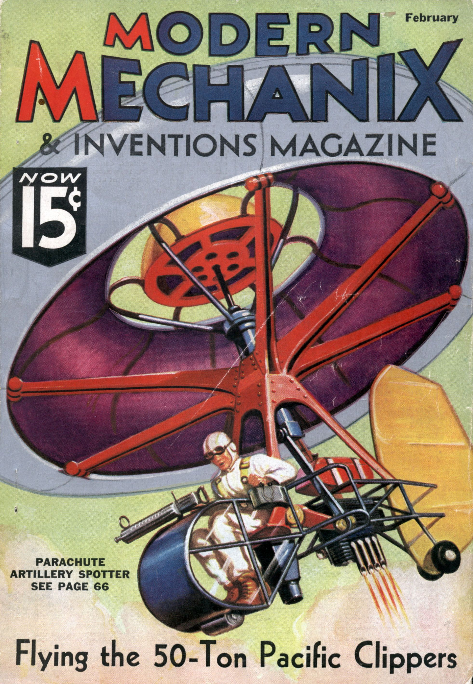 modern mechanix 1936 | Next Issue: