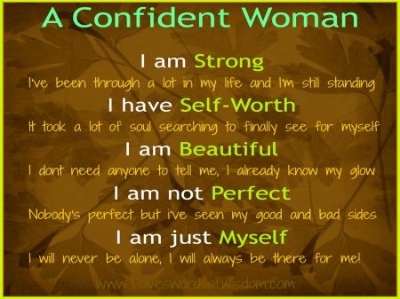 She is a woman of faith who trusts God and is confident ...
