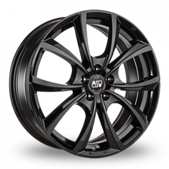Oz Msw 27 7 517 Et35 5100 Gloss Black Alloy Wheel Wheel Truck Wheels