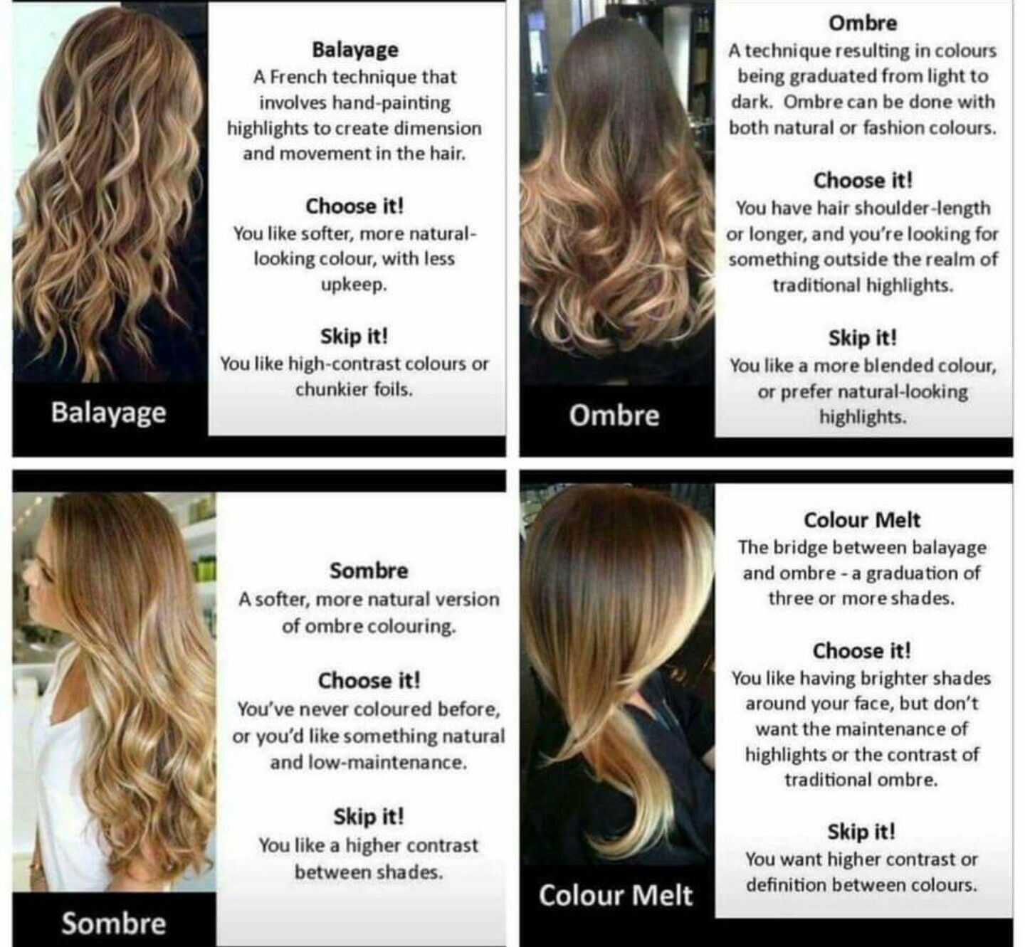 For clients! hair Pinterest Hair coloring, Balayage