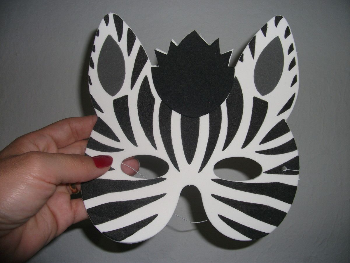 Animal Mask Craft Idea For Kids