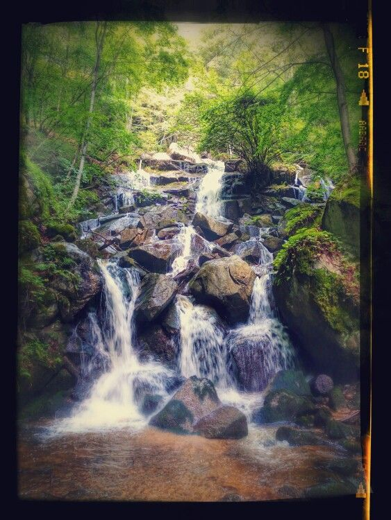 Waterfall at Rila mountain