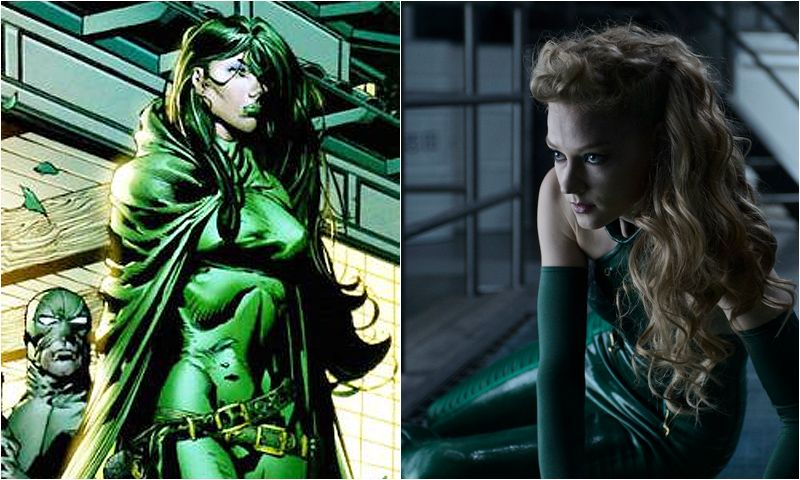 top 10 hottest female super villains from comic book movies
