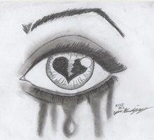 Hearts Drawings Heart Broken Drawing Doodle