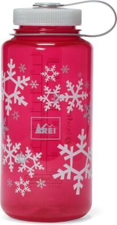 REI Nalgene Holiday Wide-Mouth Loop-Top Water Bottle # ...