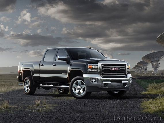 GMC Sierra HD 2015 / GMC Сьерра HD