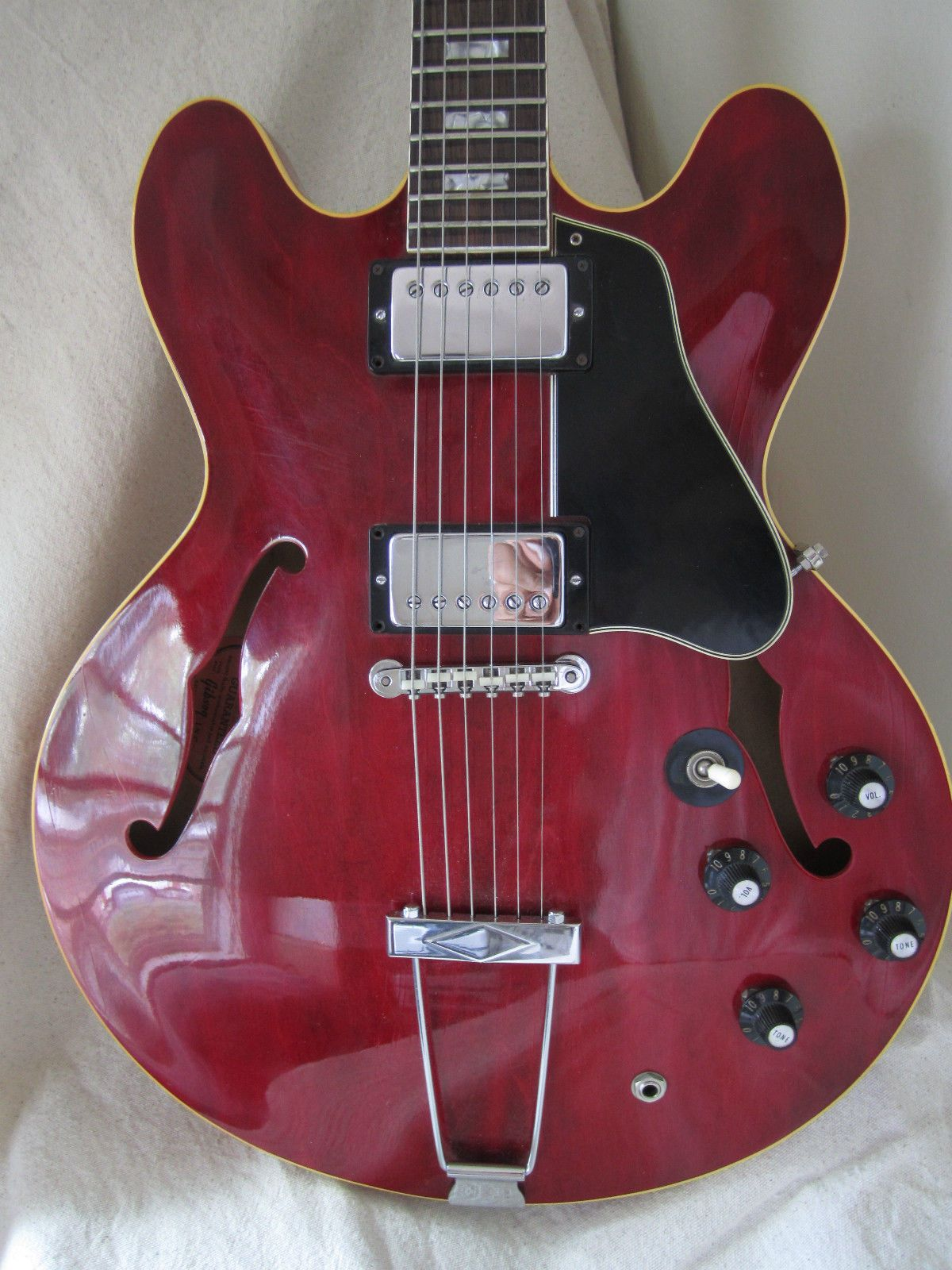 1967 Gibson Es 335 Vintage Electric Guitar Excellent Condition