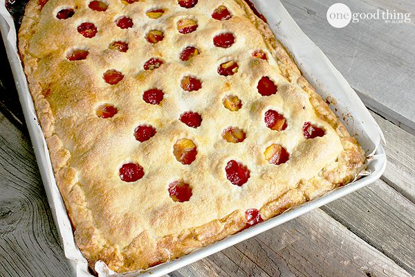 Rustic Peach Raspberry Slab Pie Recipe Slab Pie Peach Slab Pie Desserts