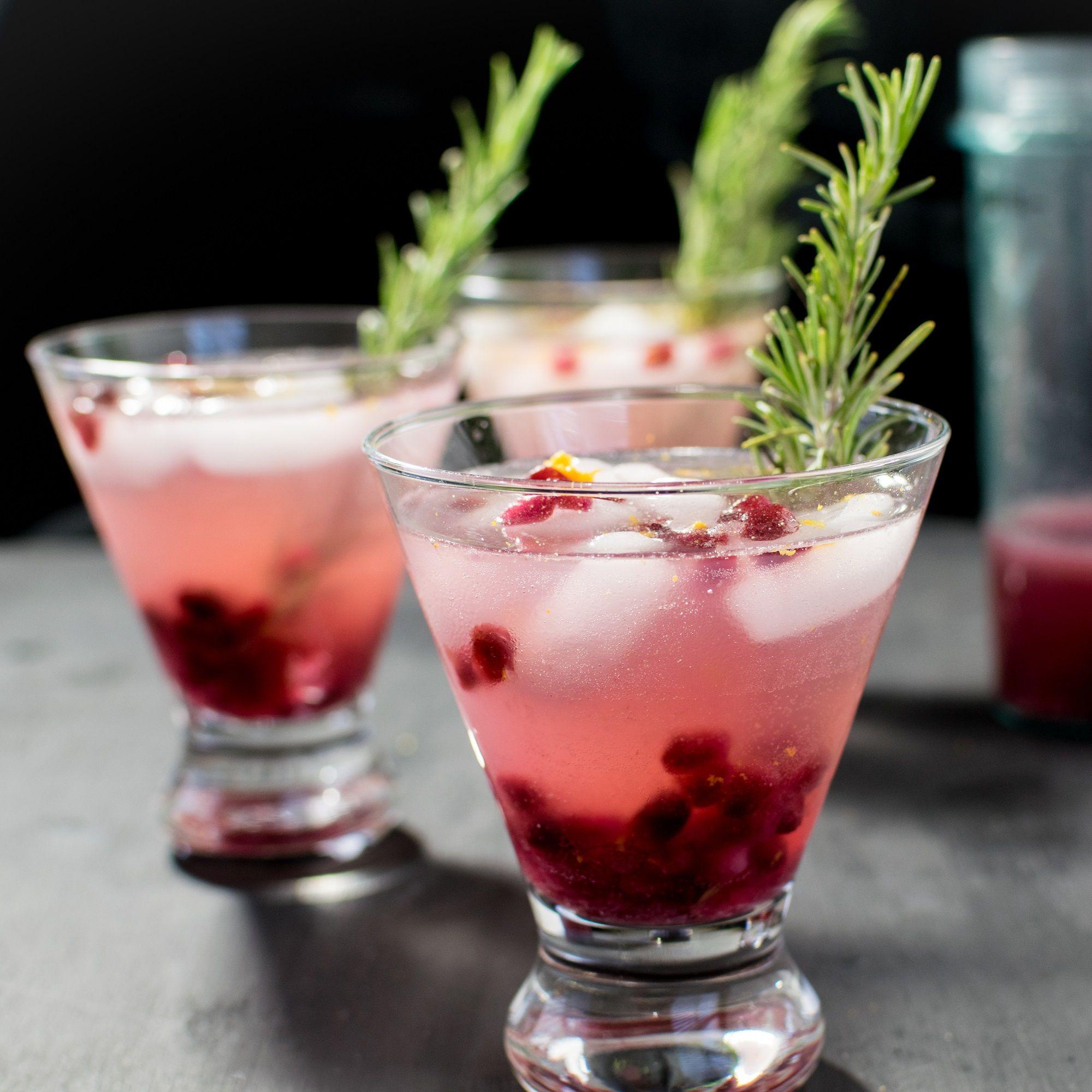 Sparkling Pomegranate Coconut Mocktail Christmas Drinks Recipes Easy Mocktail Recipes Mocktails