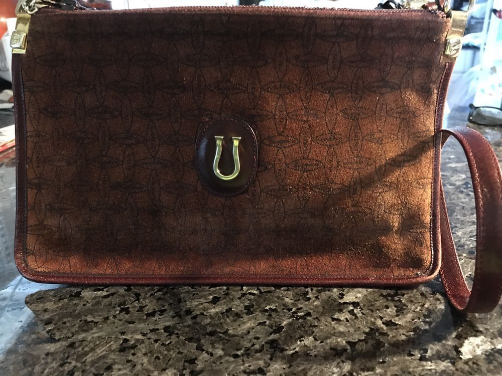 Caggiano Fine Calfskin Italian Leather Purse Made In Italy Red Ebay