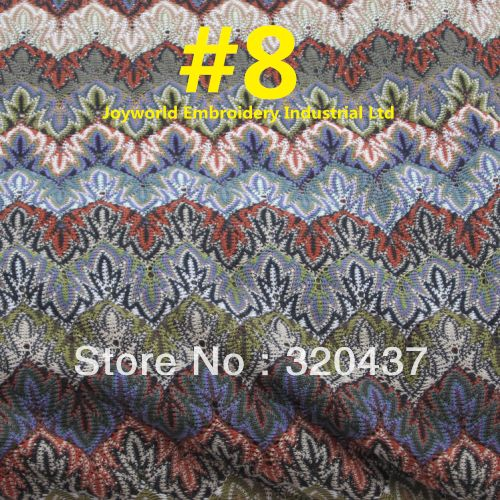 linen lace crochet fabric trim  | Crochet Missoni lace fabrics 2013 new arrival popular skirt lace trim