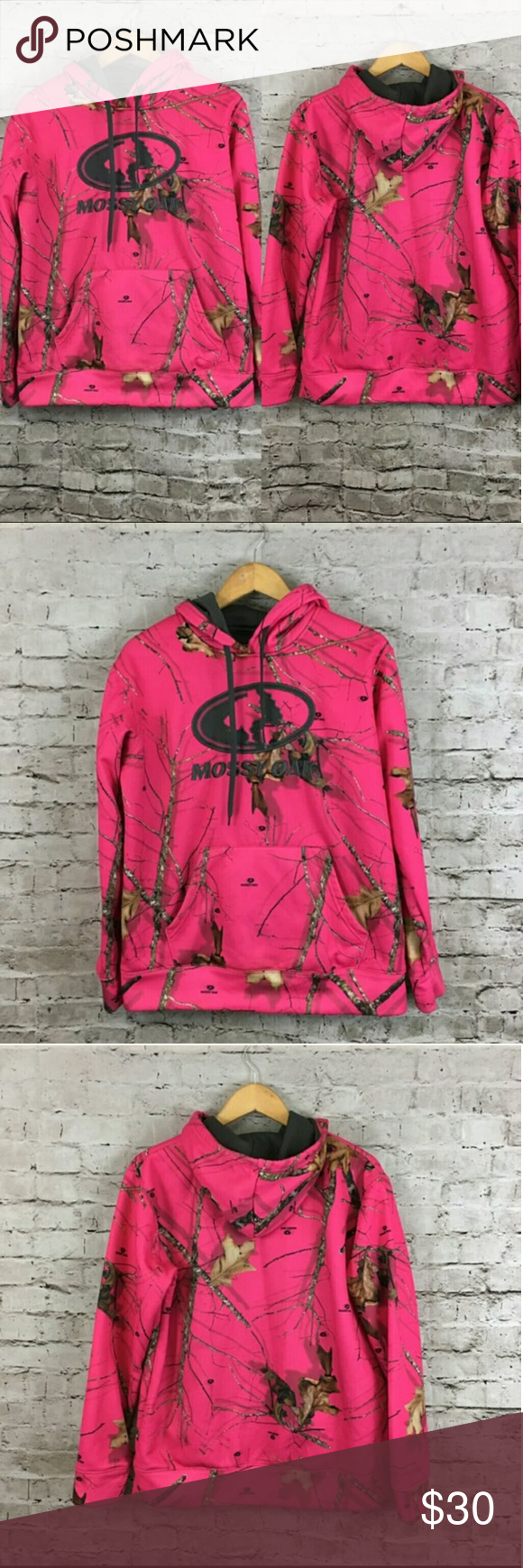 26836ed5d44bd NWT Camo Hot Pink Plus Size Hoodie Size 2X You will love this Mossy Oak  Pullover