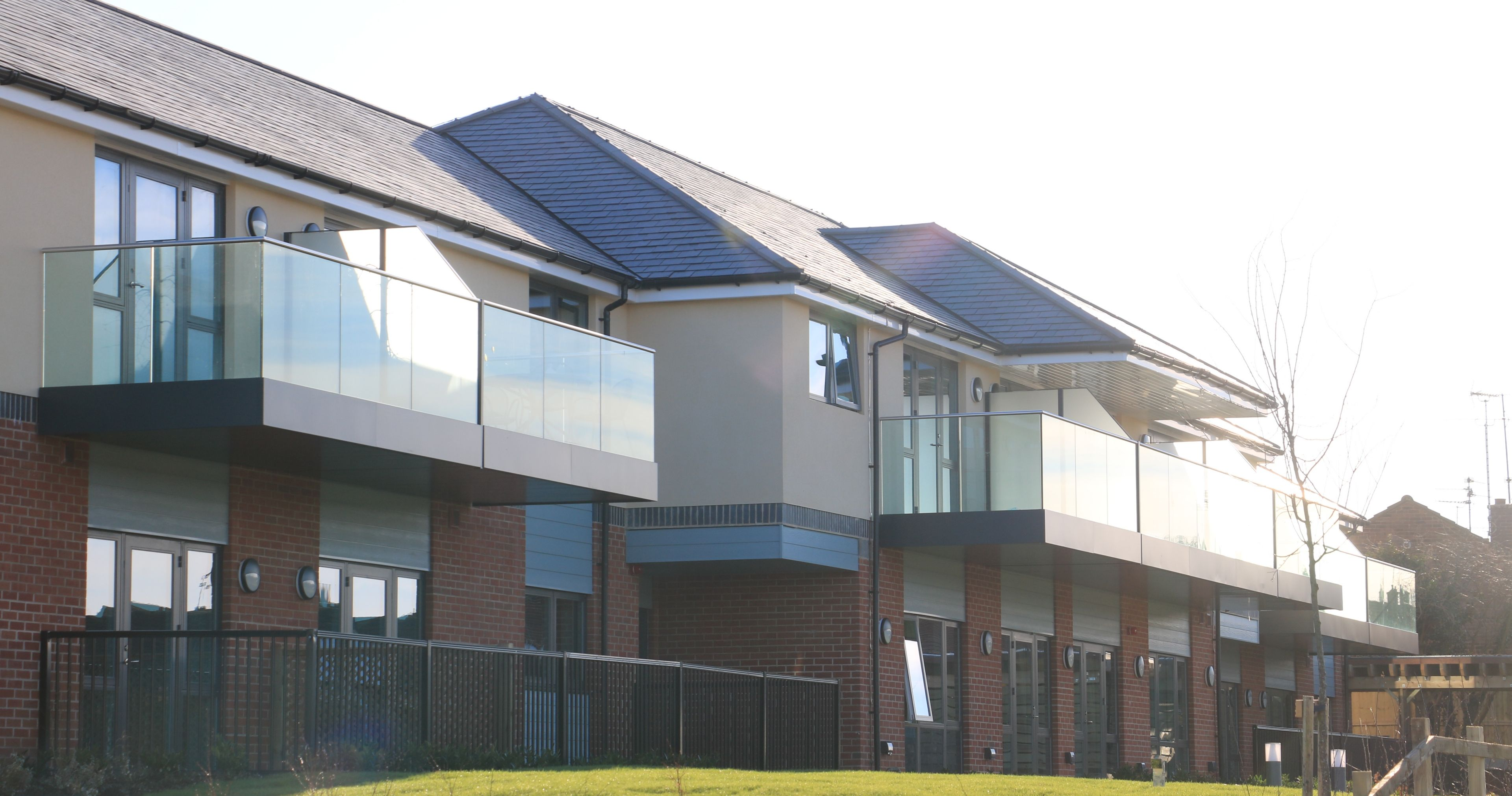 Fosters care home was a traditional build meaning an