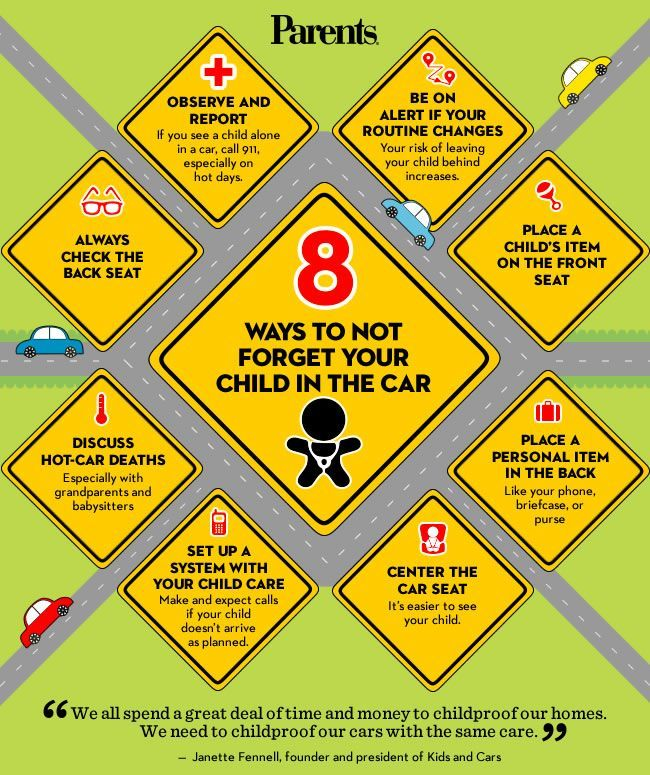 8 ways to not forget your child in the car great parenting guide safe kids3