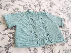 j'adore knitting: Vine Lace Cardigan.