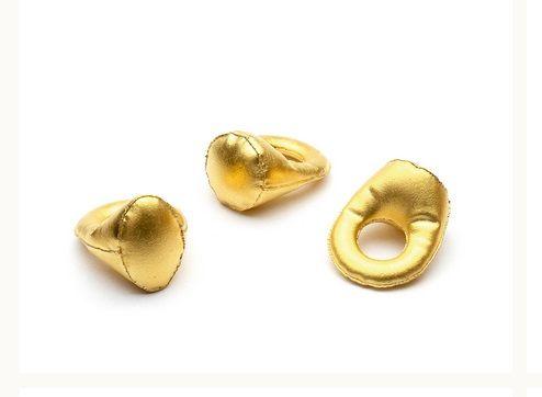 Loewe Bracelet for Women, Yellow Gold, Brass, 2017, Small