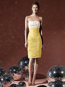 Social Bridesmaids Style 8107    #yellow #bridesmaid #dress