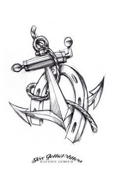 Anchor And Horseshoe Tattoo Google Search Horse Shoe Tattoo Horse Tattoo Tattoo Sketches