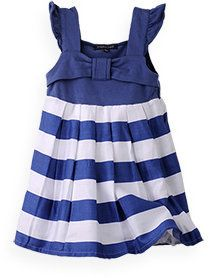 a0d8b52f0ba539 ShopStyle: Bow Front Stripe Dress | Keep On Sewing | Kids outfits ...