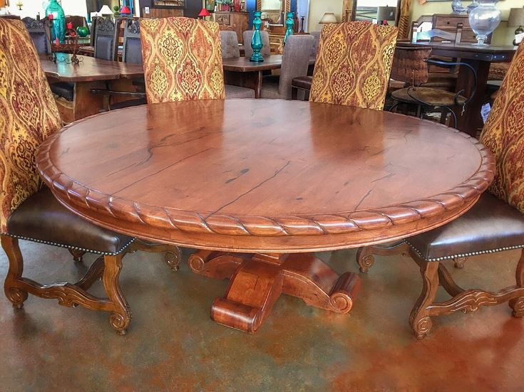 72 In Round Mesquite Dining Table Mezquite Dining Dining Table