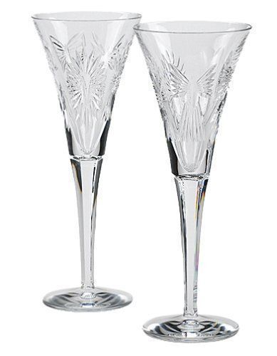 Waterford Crystal Millennium Collection Champagne Toasting Flutes Waterford Crystal Crystal Flutes Crystal Champagne Glasses
