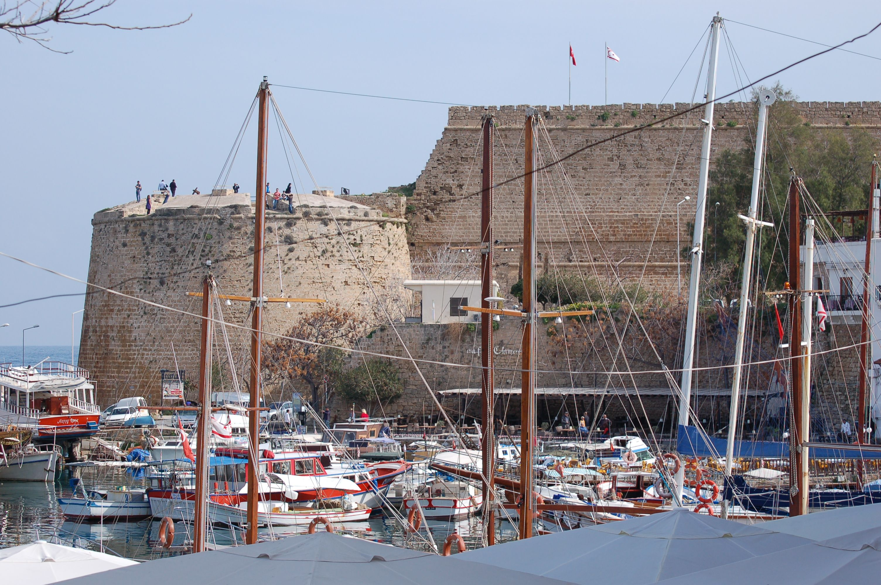 Kyrenia harbour  #Kyrenia #harbour #castle
