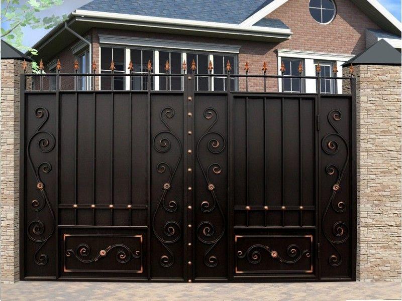 Vorota Vk House Gate Design Door Gate Design Grill Gate Design