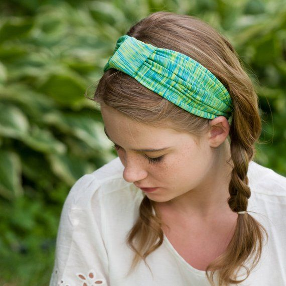 f024c0a4e9c Green Turban Headband