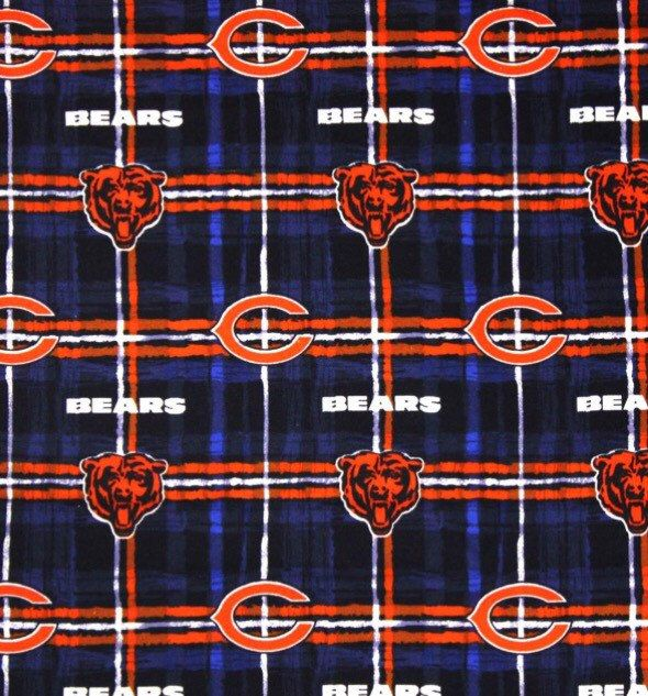 d5eebd3bf7a New to glitterthread on Etsy  Chicago Bears Flannel sheets (35.00 USD)