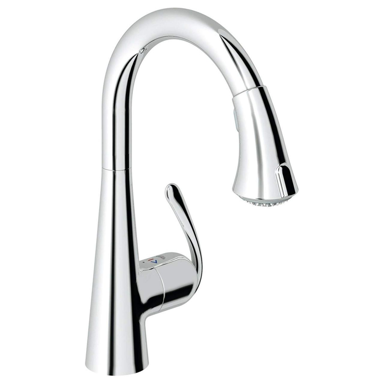 Moen Single Handle Kitchen Faucet With Pullout Spray Repair Single Handle Bathroom Faucet Moen Kitchen Faucet Grohe Bathroom Faucets [ 1280 x 1280 Pixel ]