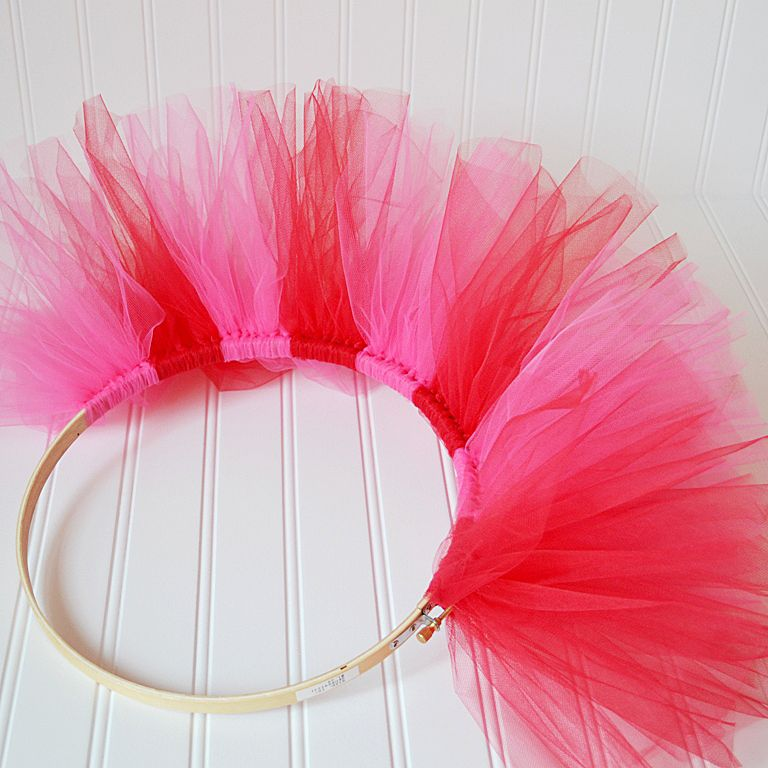 Tulle Wreath Instructions