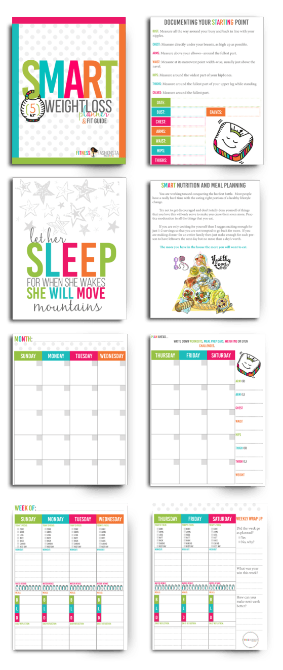 inside smart weight loss planner bright ideas pinterest