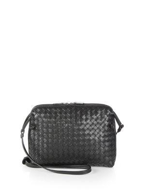 823ab91c19 BOTTEGA VENETA Small Pillow Intrecciato Leather Crossbody Bag.   bottegaveneta  bags  shoulder bags  lining  crossbody  suede