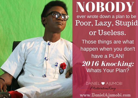 Season Greetings - Daniel Ajumobi  2016 Knocking: Whats Your Plan?